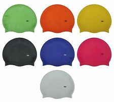 CHEX 100% Silicone Plain Childrens 3 - 7 Years Grade A Strong Swimming Hat Cap