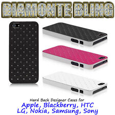 Luxury Hard Back Bling Crystal Diamond Diamonte Rhinestone Case Cover