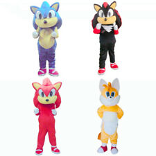 2016 Sonic the Hedgehog Mascot Costume Outfit Adult Size Suit Advertising Best