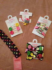 NWT Gymboree Tea for Two Hair Accessories Barrettes or Headbands