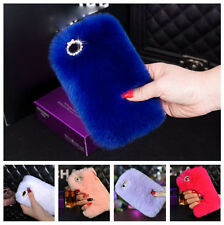 Genuine Luxury REX Rabbit Fluffy Case Skin For Apple iPhone 5 5S 6 4.7 & 6 Plus
