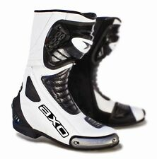 Axo Primato II White Pro Road Bike Motorcycle Boots Size 8,10.5,11,13 RRP $299