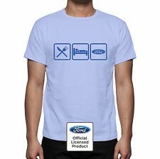 Ford 'Eat Sleep Ford' Retro style T Shirt