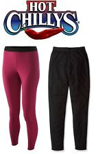 HOT CHILLYS PERFORMANCE BASE LAYER WOMENS BOTTOMS, RAZZLE & BLACK, (PS3800)