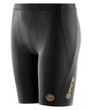 Skins A400 Youth Compression Half Tights (Black)
