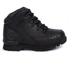 Toddlers Timberland Euro Rock Hiker Black Boots