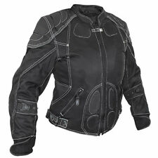 Nexgen Ladies 2199 Waterproof Mesh Black Motorcycle Jacket