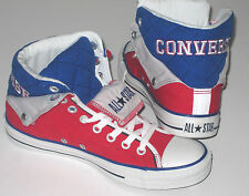 Brand New CONVERSE CT PC PELL BACK MID Red Textile Trainers