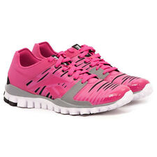 Womens REEBOK REALFLEX FUSION TR 2.0 Pink Running Trainers J99787