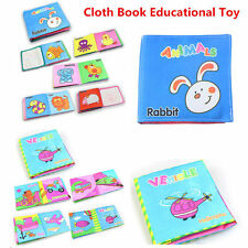 Intelligence Development Cloth Cognize Book Educational Toy for Kid Baby Child