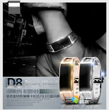D8 Bluetooth Bracelet Sync Smart Wrist Watch Phone for Android Samsung HTC IOS