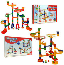 Marble Run Race Set Building Blocks Construction Creative Game Toy 53 & 56 pcs