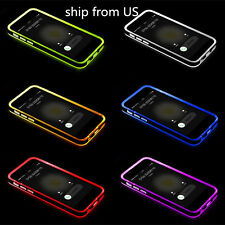Soft Silicone TPU Bumper Hybrid Gel Case Cover For Apple iPhone 5G 6/ 6S Plus