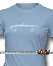 MG MGB MKIII Convertible Women T-Shirt - Multiple Colors and Sizes