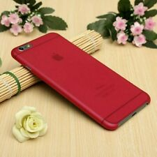 Transparent Red Matte Frosted Ultra Thin 0.3mm Case Cover For Apple iPhone 6/6s