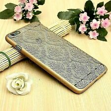 """Transparent Vintage Damask Gold Cover Shell Case For iPhone 6/6 PLUS (5.5"""")"""