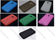 Multi Color Matting TPU Gel CASE Cover For Samsung Galaxy Ace Plus S7500
