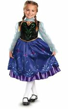 LICENSED DELUXE PRINCESS ANNA FROZEN CHILD & TODDLER GIRLS BOOK WEEK COSTUME