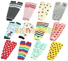 NEW Cute Baby Toddler Girl Boy Leggings Warmer Long Socks Arm Leg Warmers