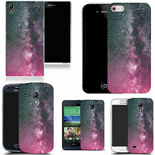 gel rubber case cover for  Mobile phones - pink dust speckle silicone
