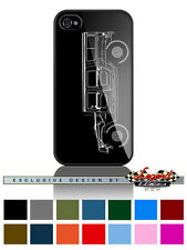 "Hummer HUMVEE H1 Station Wagon ""Profile"" Cell Phone Case iPhone & Samsung Galaxy"