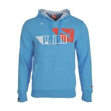Mens Puma Sports Casual Hoodie Blue Hoody Hooded Top Sweatshirt Size S M XXL NEW