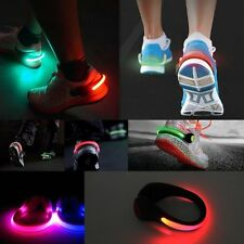 2PCS New Outdoor Safety Led Running Walking Jogging Clip Warning Light For Shoes
