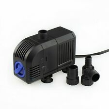 400-1600 GPH Adjustable Submersible Water Pump Aquarium Fish Tank Powerhead