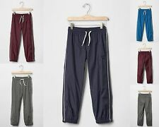 NWT GAP Kids Boys Arch Logo Active Track Pants Activewear  NEW U-Pick Color & Sz