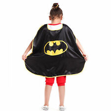 Super Hero Cape Cloak Party Fancy Dress Costume Toy For Child Boy Girl's Gift