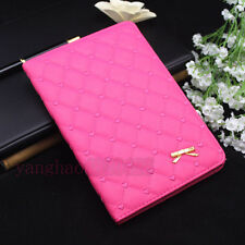 Luxury Bowknot Leather Smart Case Stand Cover for Apple iPad mini/2/3/4/5th/Air2