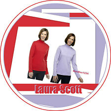 Laura Scott Women's Mock Neck Knit Top NEW with Tags Fast/Free Shipping