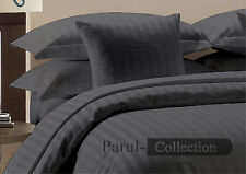 New Super Collection of Grey Striped  1000TC 100% Egyptian Cotton in All Size