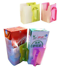 Baby Child Kids Juice Pouch Milk Box Water Drinking Bottle Cup Holder Adjustable