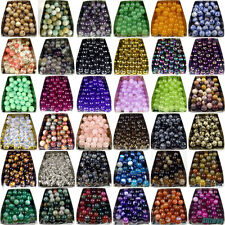 Series I lot natural gemstone spacer loose beads 4mm 6mm 8mm 10mm round stone