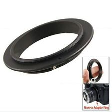 52 55 58 62 67 72 77mm OM Macro Reverse Adapter Ring for 4/3 Olympus Mount