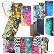 Folio Flip Stand Bill Credit Card Wallet Design Pouch For iPhone 6 6s Plus Phone