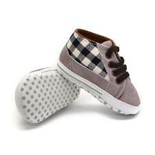 New Infant Toddler Sneakers Kids Baby Boys Soft Sole Crib Shoes to 0-18 Months