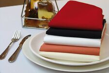 "150 Packs 20"" x 20"" Polyester Napkins Wedding Party Catering 24 COLORS SALE USA"