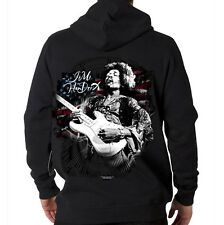 Jimi Hendrix American Rock & Roll Music Guitar Legend Hooded Sweatshirt Hoodie