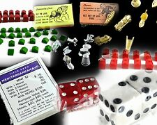 REPLACEMENT Monopoly  Multple Parts and Pieces CRAFTS