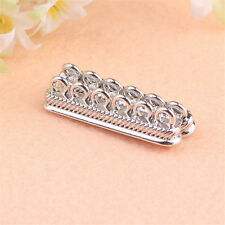 10pcs Fashion Silver Plated Magnetic Clasps  DIY Jewelry Necklace Findings