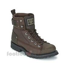 Shoes Cat Caterpillar Brent P717832 ankle boots man chocolate nubuck greased