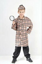 #BOOK WEEK BOYS SHERLOCK HOLMES OUTFIT VICTORIAN EDWARDIAN COSTUME FOR ALL AGES