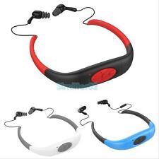 Waterproof Sport Stereo MP3 Player USB 2.0 with FM Radio for Swimming Surfing