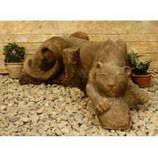 Panther Outdoor Garden Statue by Orlandi Statuary - Faux Concrete-FS8100