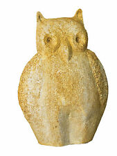 Owl Outdoor Garden Statue by Orlandi Statuary - Faux Concrete-FS8152