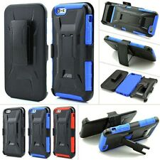 Tough Armor Heavy Duty Shockproof Hard Case Belt Clip For iPhone 6/6s &6/6s Plus
