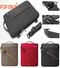 """10"""" to 17.4"""" Netbook Laptop Case Bag Cover Pouch With Handle & Shoulder Strap"""