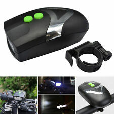 3LED 6Sounds LED Bicycle Bike Front Head Light Bell E-Alarm Horn Up Headlamp New